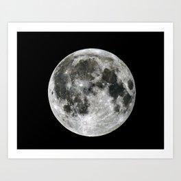 Doom and The Moon Art Print