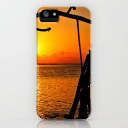 Sunrise The Maldives iPhone Case