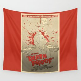 Death Proof Wall Tapestry