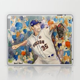 Justin Verlander - Astros Pitcher Laptop & iPad Skin