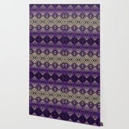 The Lodge (Purple) Wallpaper