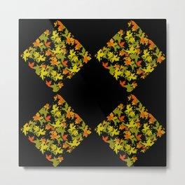 Fall Color Diamond 4 Metal Print
