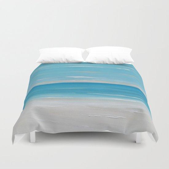 Coastal Seascape Duvet Cover