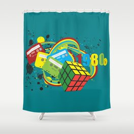 1980's Shower Curtain
