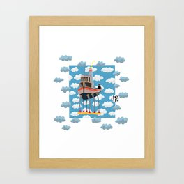 My Little Boat 2! Framed Art Print