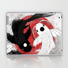 Koi fish - Yin Yang Laptop & iPad Skin