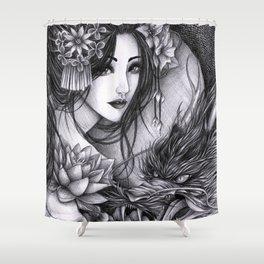 The Far East Shower Curtain
