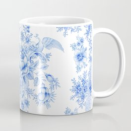 Blue asiatic pheasant Coffee Mug