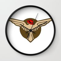 agent carter Wall Clocks featuring Carter Commandos by Captain Blitzy