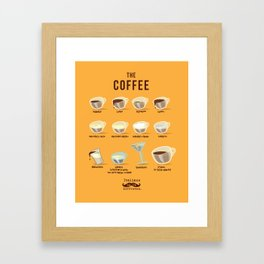 Italians Do It Different - The Coffee Framed Art Print
