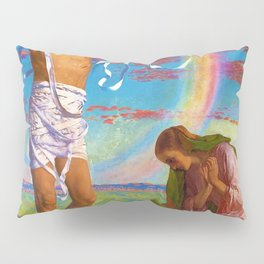 Christ And The Two Marys - Digital Remastered Edition Pillow Sham