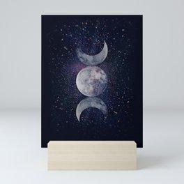 Shining Lunar Symbol Mini Art Print