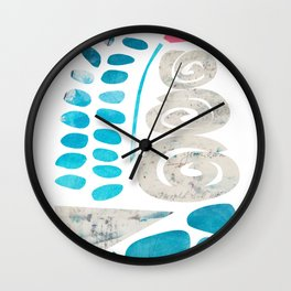 """Terrarium, """"And Then I Created My Own World"""" Wall Clock"""