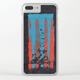 tattered remnants. Clear iPhone Case