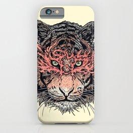 Masked Tiger iPhone Case