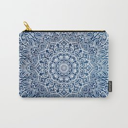 White mandala Carry-All Pouch