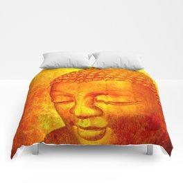Buddha from Sri Lanka Comforters