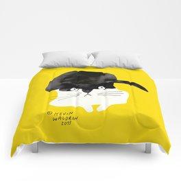 cat 2 Comforters