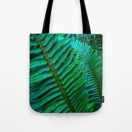 Flowing Ferns Tote Bag