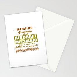 Aircraft Mechanics Stationery Cards
