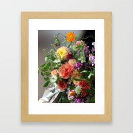 Flower Design 11 Framed Art Print