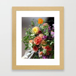 Flower Design 11 Framed Art Print