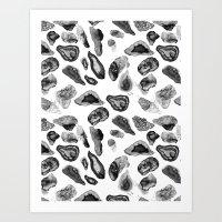 Agate Pattern 1 Art Print