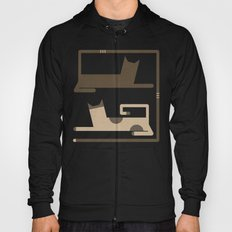 CATS IN LOVE (abstract animals) Hoody