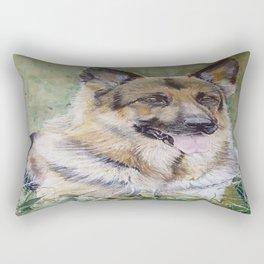 Alsation Rectangular Pillow