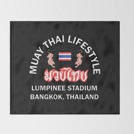 MUAY THAI Lifestyle Throw Blanket