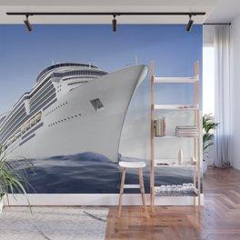 Cruise Ship Wall Mural