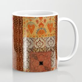 Vintage textile patches Coffee Mug