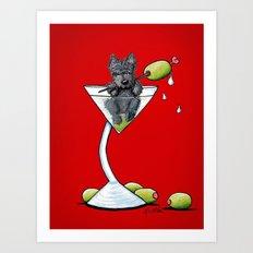 KiniArt Scottish Martini Art Print