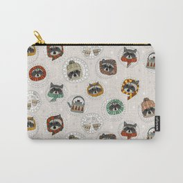 hygge raccoons Carry-All Pouch
