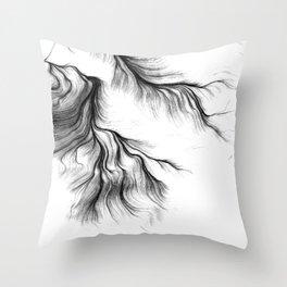 Tear Throw Pillow