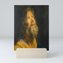 "Sir Anthony van Dyck ""Saint Peter the Apostle"" Mini Art Print"