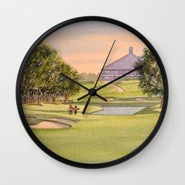 The Australian Golf Club Hole 7 Wall Clock