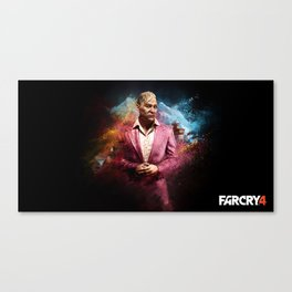 Pagan Min - Far Cry 4 Canvas Print