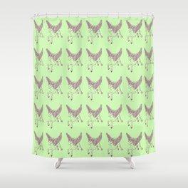 Ancient Pegasus Mythical Mythology Color Pattern Shower Curtain