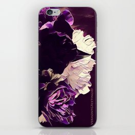 Pretty in Purple iPhone Skin
