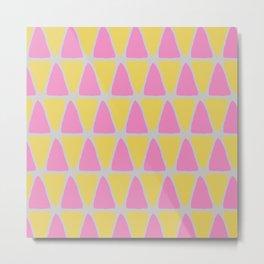 Fav Triangles Metal Print