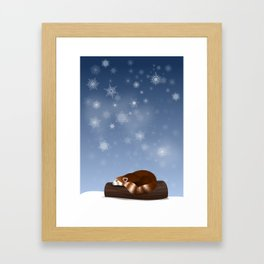 Red Panda Framed Art Print