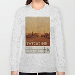 The Desert Planet of Tatooine Long Sleeve T-shirt