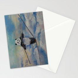 Panda Tightrope Stationery Cards