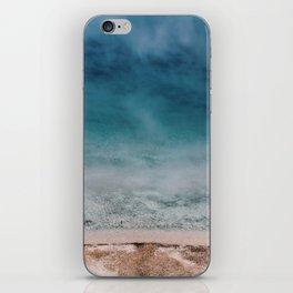 Hot Blue iPhone Skin