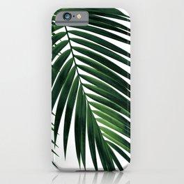 Tropical Green Palm Leaf #1 #botanical #decor #art #society6 iPhone Case