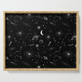 galactic pattern Serving Tray