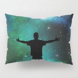 Universe Man Pillow Sham