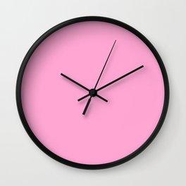 Pastel Colors: Rose Quartz Wall Clock