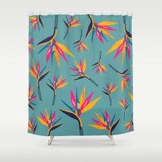 Bird of Paradise #2 Shower Curtain